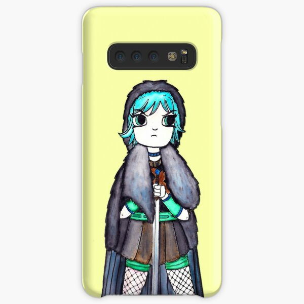 Scott Pilgrim Ramona Flowers Jon Snow Game of Thrones Mash Up Illustration by Jayne Kitsch Samsung Galaxy Snap Case