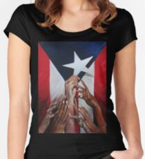 A star will rise Women's Fitted Scoop T-Shirt