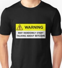 Bitcoin - warning T-Shirt