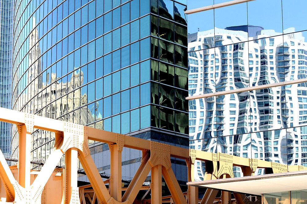 Downtown Reflections by Jennifer Darrow