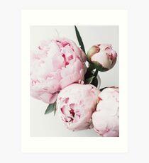 Flowers print, Scandinavian, Peony, Fashion print, Scandinavian art, Modern art, Wall art, Print, Minimalistic, Modern Art Print