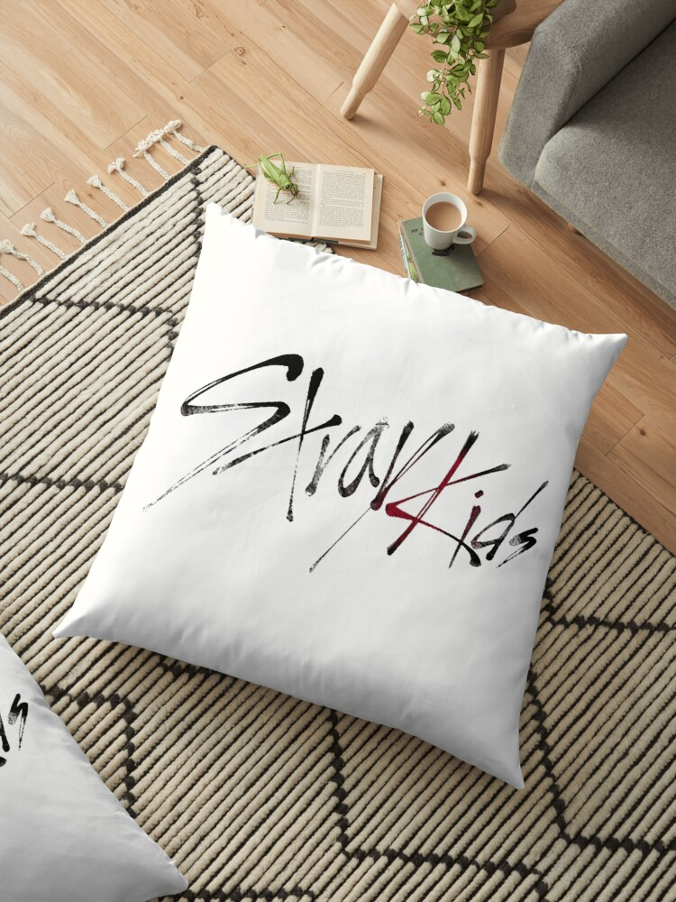 floor pillows for kids. Stray Kids  LOGO by Gain Park Floor Pillows Redbubble