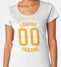 LOGANG 00 ORANGE Women's Premium T-Shirt