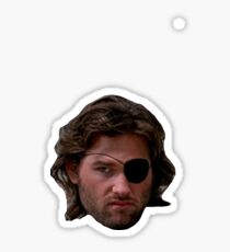 Escape New York - Snake Plissken - Head Sticker