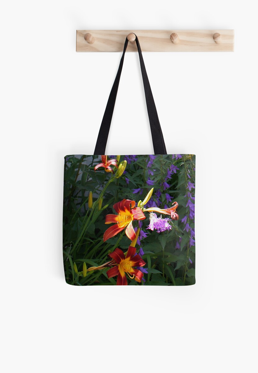 Daylilies in the Wildflowers by Donna R. Cole