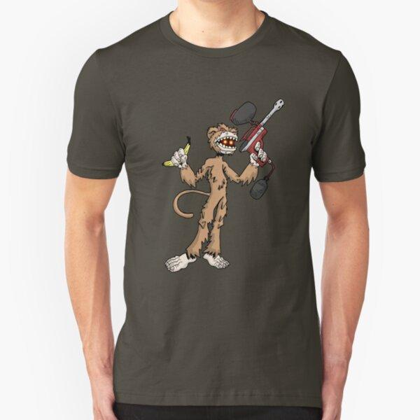 monkey-boy... Slim Fit T-Shirt