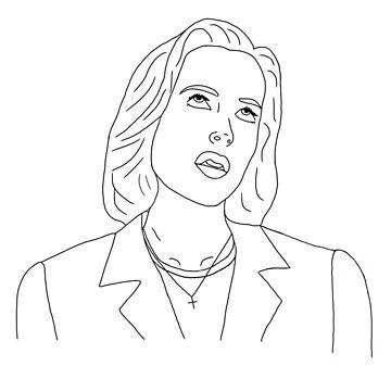 Scully eyeroll  by mafaldamaria