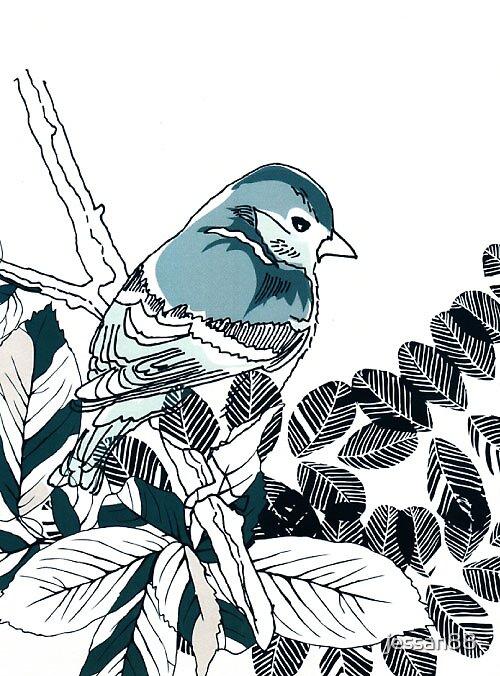 blue bird by jessan88