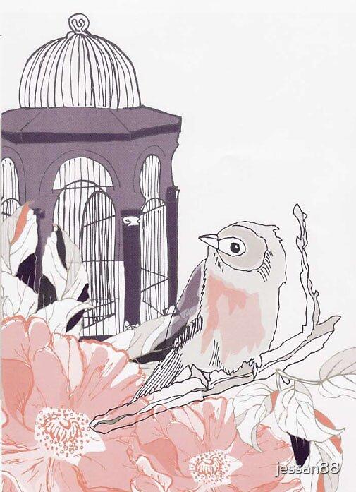 cage bird by jessan88