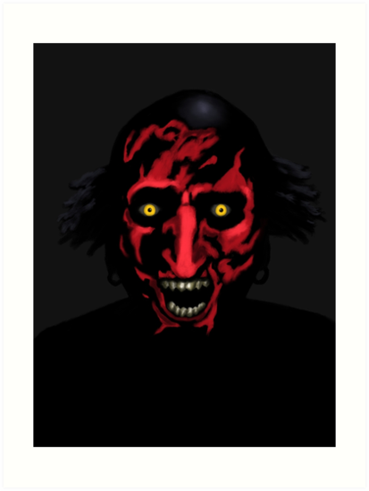 """Demon from Insidious"" Art Prints by Gary Cadima 