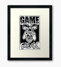 Game Freak Framed Print