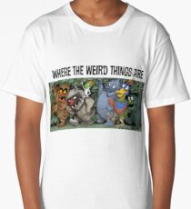 Where the Weird Things Are Long T-Shirt