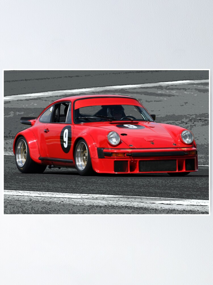 Alternate view of Classic Porsche Poster