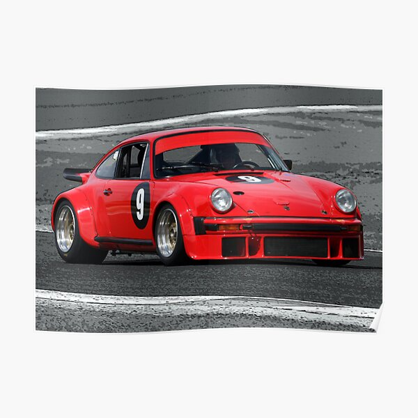 Classic Porsche Poster