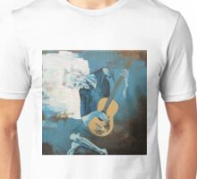 The Old Guitarist: A Picasso Study Unisex T-Shirt