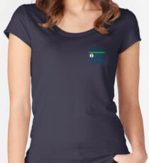 2015 touchdown, art, gifts and decor Women's Fitted Scoop T-Shirt