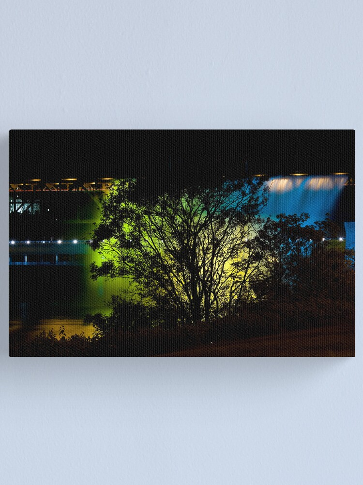 Alternate view of Golden Backdrop Canvas Print