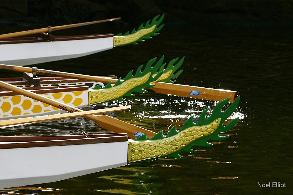 Dragon Boats #2 by Noel Elliot