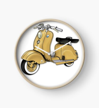 Scooter T-shirts Art: LD 150 - Original Color Clock