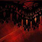 Mandala Curtain by Rebecca Sheardown