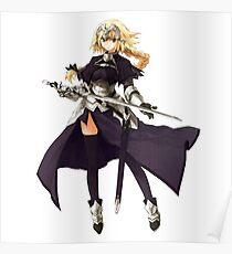 Fate Apocrypha - Ruler Jeanne D'arc Poster