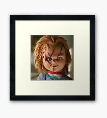 Chucky Framed Print