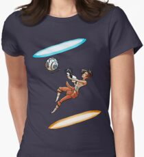 Portal Women's Fitted T-Shirt