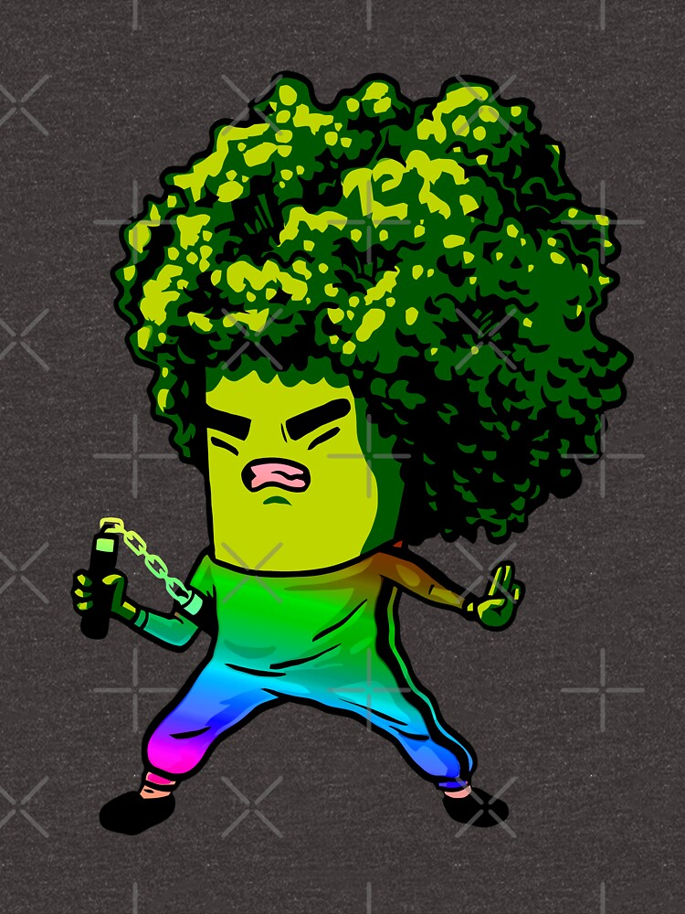 Trippy Broccolee by marisaloufvre