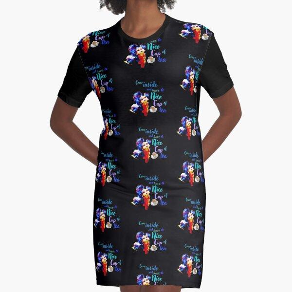 labyrinth worm Graphic T-Shirt Dress