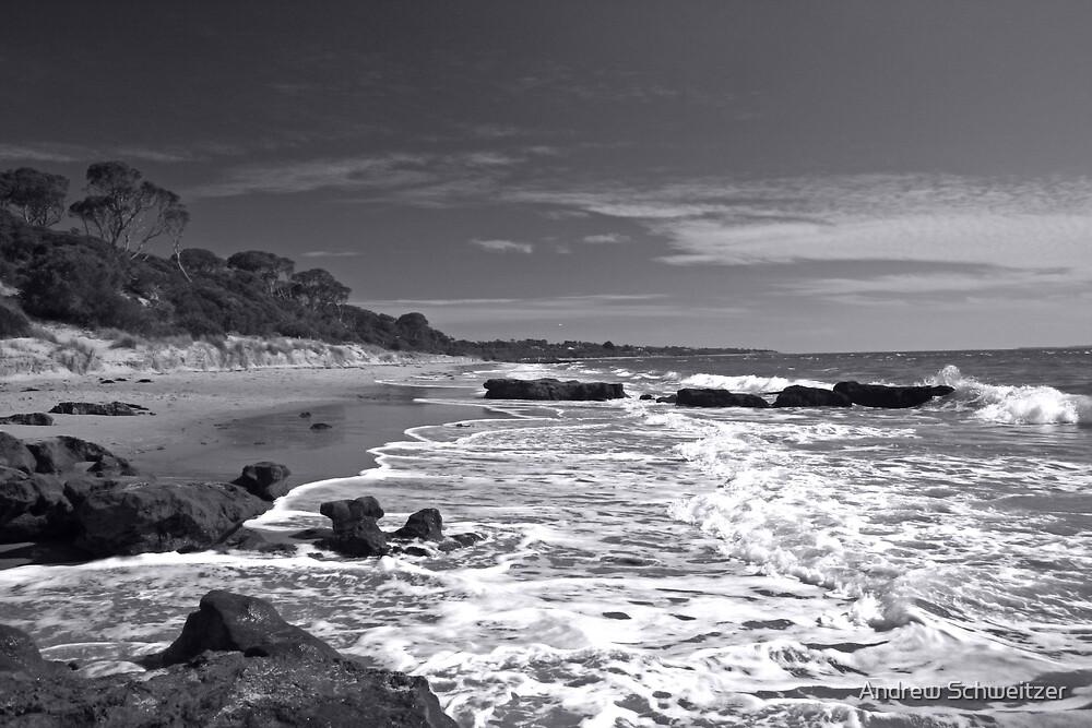 Red Rocks Beach, Phillip Island by Andrew Schweitzer