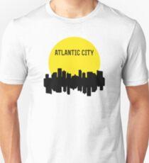 Atlantic City Skyline Unisex T-Shirt