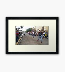 Galations 6:2  2 Carry each other's burdens, and in this way you will fulfill the law of Christ. Framed Print