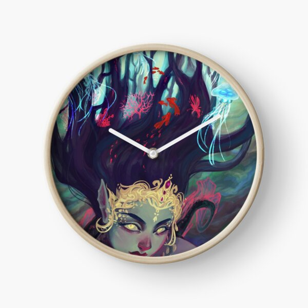 Abyss Mermaid Clock