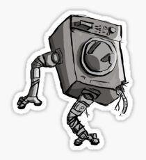 Robot handyman Sticker