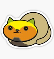 Orisa Kitty Loaf Sticker