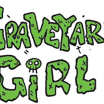 Graveyard Girl Title (Green) by reillybranson