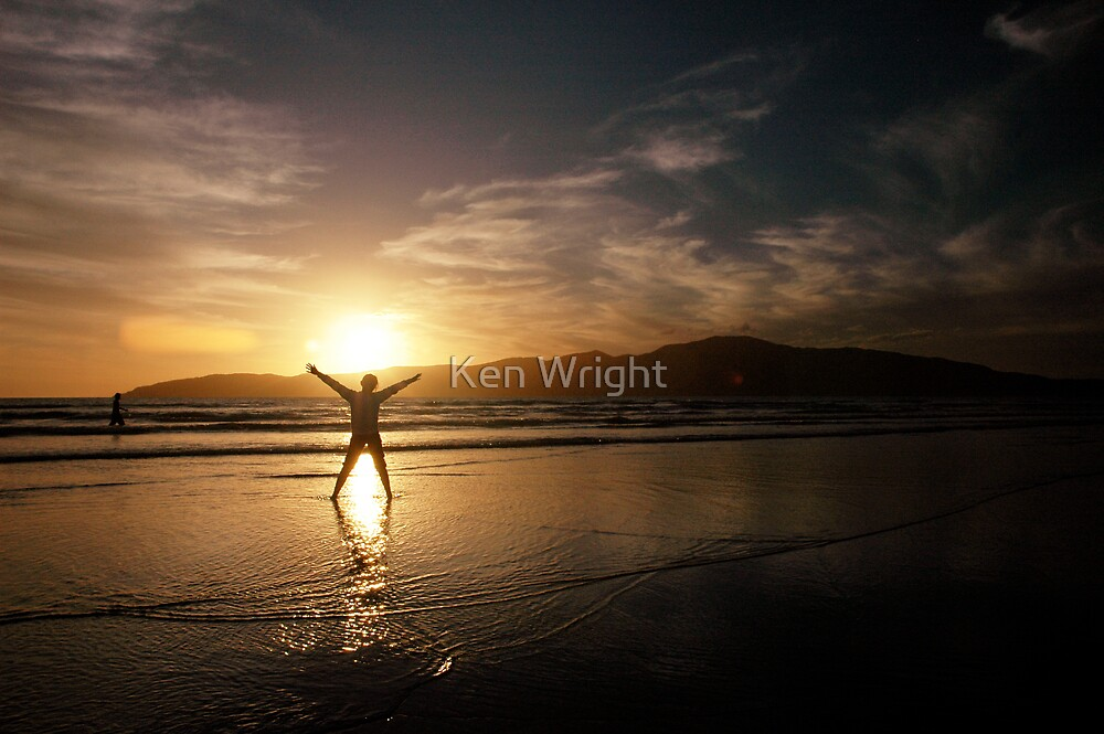 Our Eleanor, Sunset on ANZAC Day, New Zealand 2008 by Ken Wright