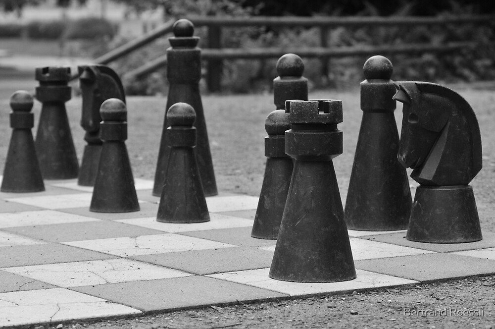 Chess by Bertrand Roessli