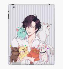 cat daddy jumin iPad Case/Skin
