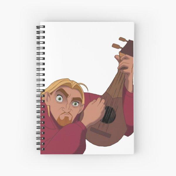 Guitarra El Dorado Miguel Cuaderno de espiral