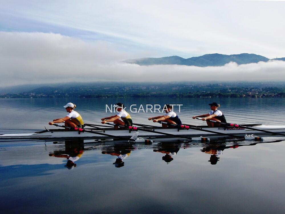 Lake Varese mist by Nick GARRATT