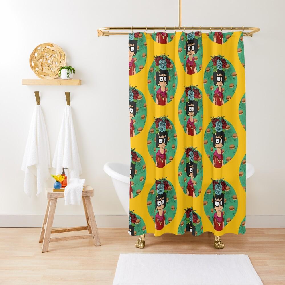 Tina Kahlo Shower Curtain