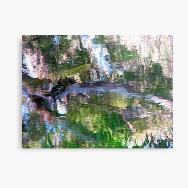 Coloured Water 4 Metal Print