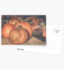 October Postcards