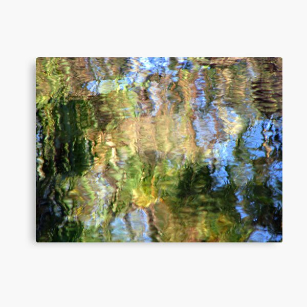 Coloured Water 3 Canvas Print