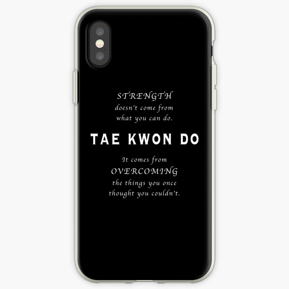 Cita Inspirada de Tae Kwon Do Funda y vinilo para iPhone