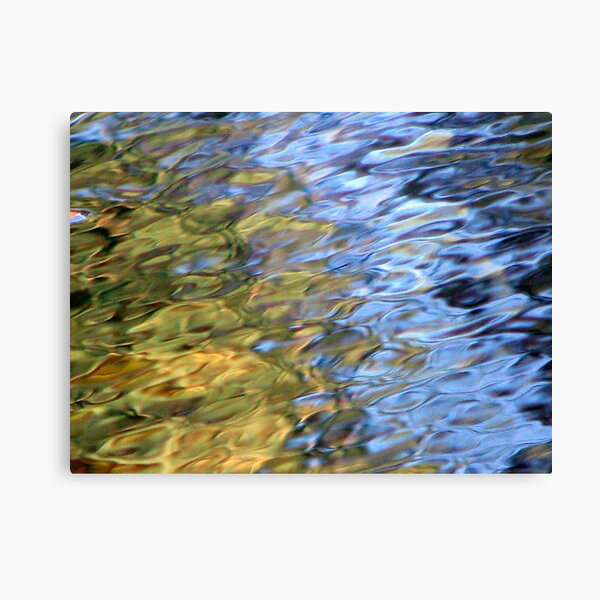 Coloured Water 2 Canvas Print