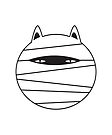 CAT MUMMY by jitterfly