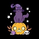 Pumpkin Cat // Black by nikury