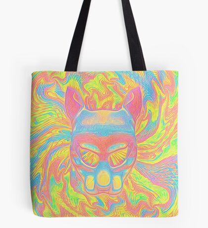 Abstract Mask Tote Bag